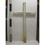 Ww1 French White Cross 'Vernon Todman' (Wood)