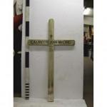Ww1 French White Cross 'Calmette Jean-Michel' (Wood)