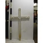 Ww1 French White Cross 'NunnWilliam' (Wood)
