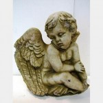 Marle Grave Topper Boy With Wings 240X240
