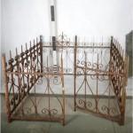 Ironwork Tomb Enclosure 900X1550X2000