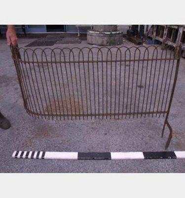 Cemetery Steel Fence 6 Pieces 3X Corner 3X Straight 1800L X 750H