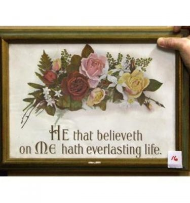 He That Believeth On Me Hath Everlasting Life'