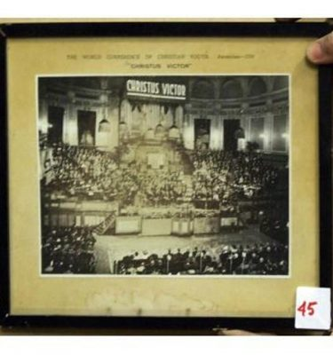 Photo Of The World Conference Of Christian Youth 1939