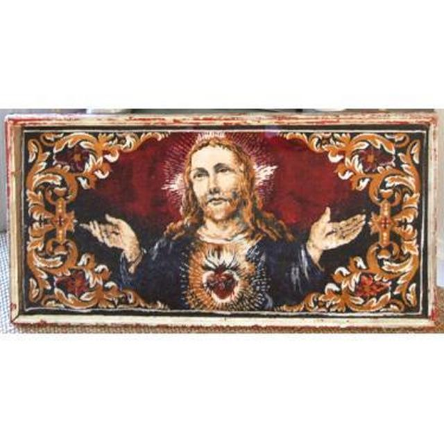 Tapestry Jesus With Hands Outstretched