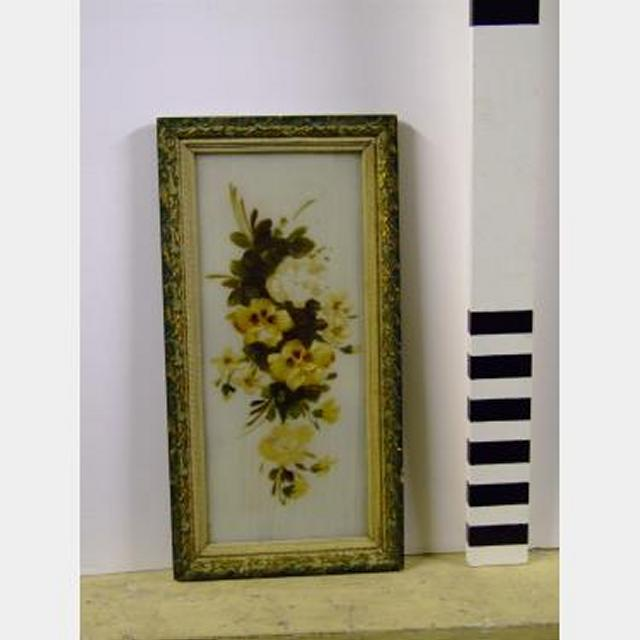 Flower Picture In Frame