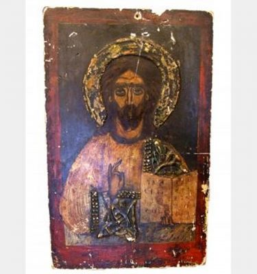 Unframed Jesus Painting