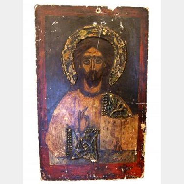 Unframed Jesus Painting