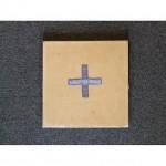 Cream Board With Hard BackStands UprightBlue Cross 205Mm X 205Mm