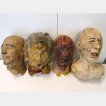 Assorted Rubber And Foam Heads