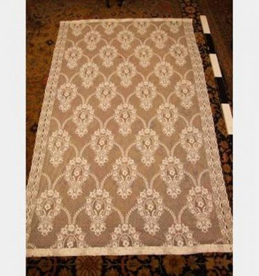 Lace Curtain Ivory 2445X5000Mm