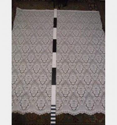 Lace Curtain Ivory 1450X2300Mm