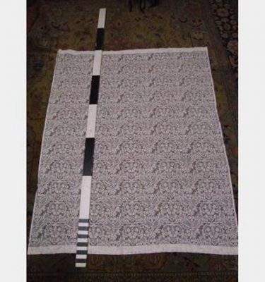 Lace Curtain Ivory 2000X2300Mm