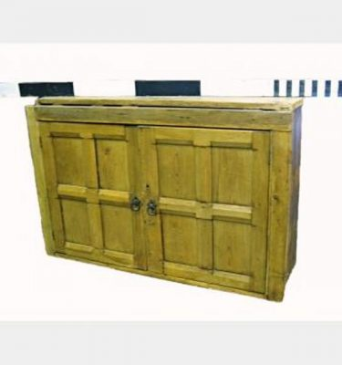 Pine Wall Cupboard 1200X810X380D X2 (1X 3Door 1X 2Door)