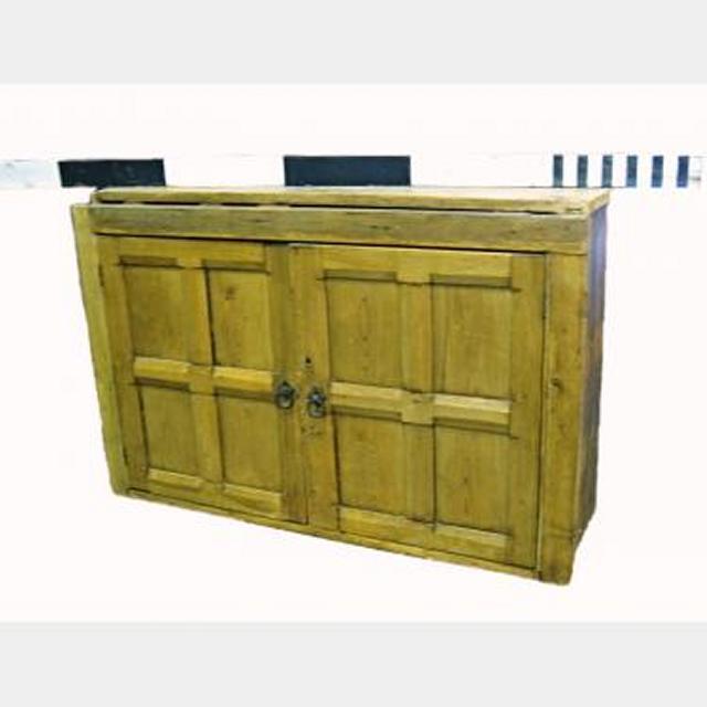 Pine Wall Cupboard 1200X810X380D X2 (1X 3Door 1X 2Door)