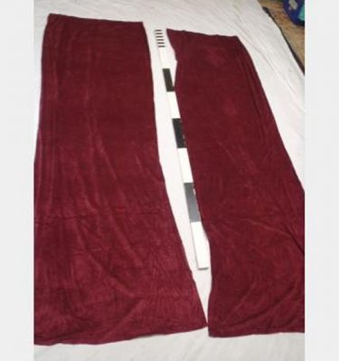 1000 Wof X 2900Mm Drop Port Wine Velvet Drape Pair Scht