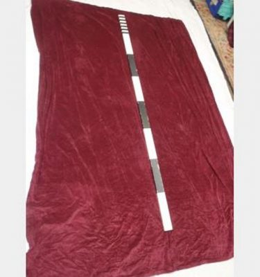 1900 Without Fullness X 2900Mm Drop Port Wine Velvet Drape Single Scht