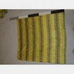 1200 Without Fullness X 1300Mm Drop Yellow Striped Curtain Scht