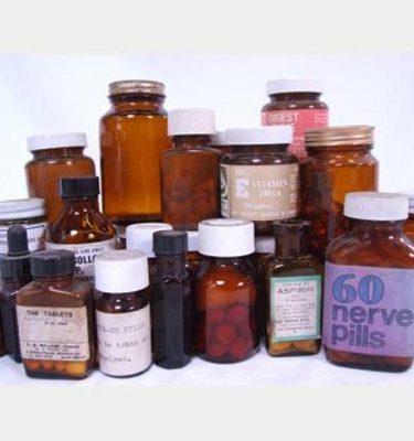 Medicine Jars  Assorted