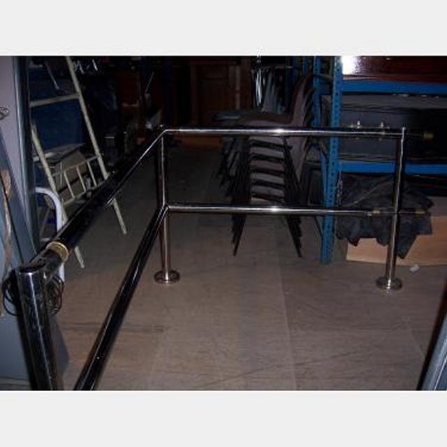 Chrome Steel Hand Rail