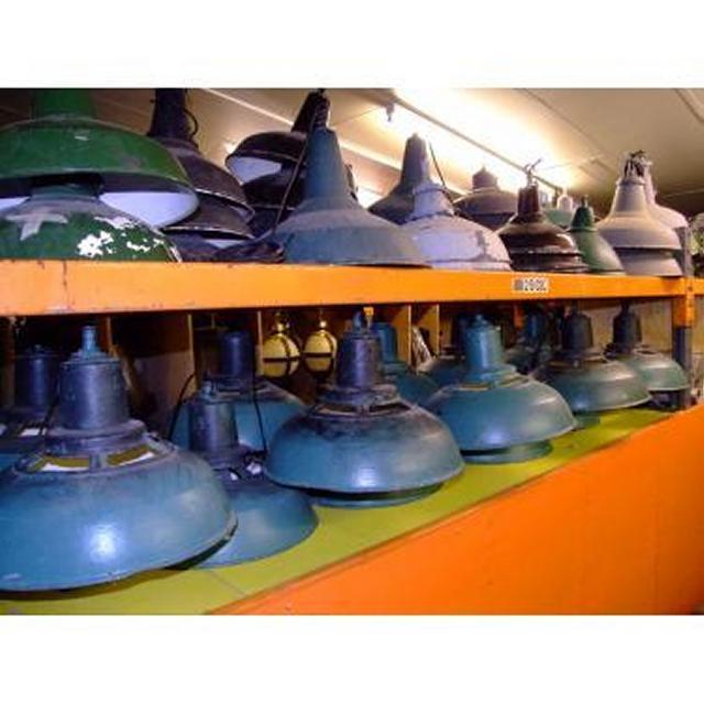 Various Steel Coolie Lamps