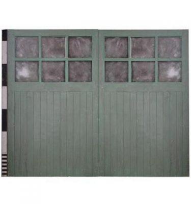 Pair Of Garage DoorsGlazed Top Panals 1990X1220