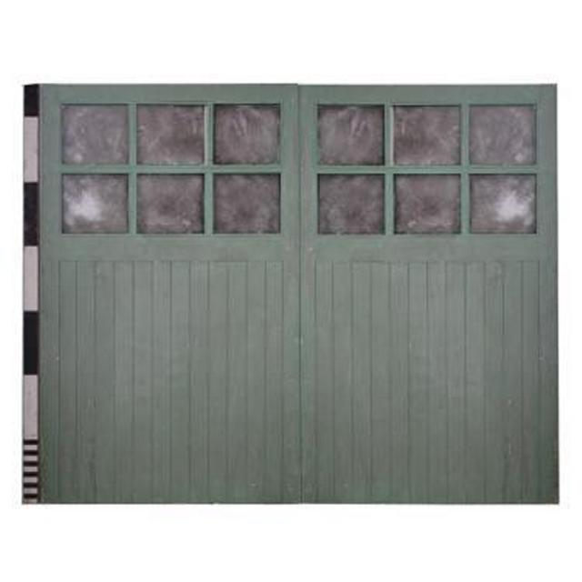 Pair Of Garage Doors