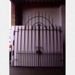 Metal Gates 1 Pr Large With Radius Top