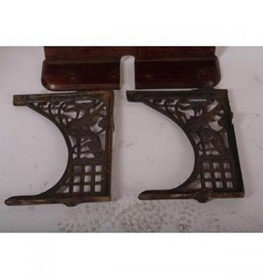 Iron Supports For Victorian Toilet