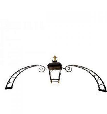 Lamp & Arch Over Door