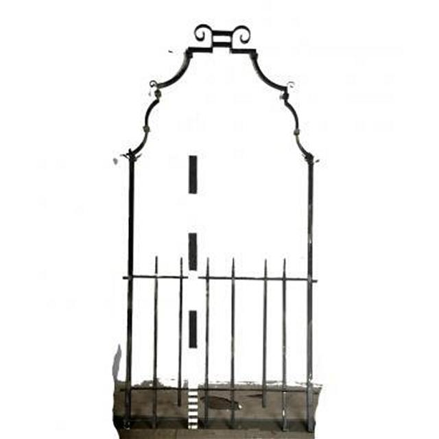 Arch With Railing Section                  1860W X 3000 H