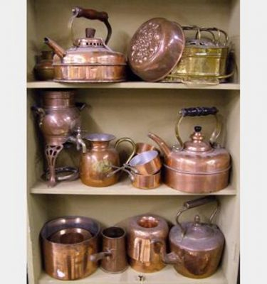 Copper Various Items