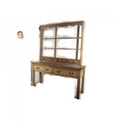 Pine Dresser In 2 Parts