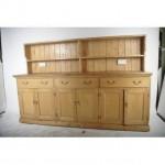 Pine Dresser Unit 2 Sections                                1160X2350Longx580