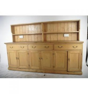 Pine Dresser Unit 2 Sections                                1160X2350Longx580