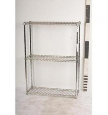 Stainless Steel Shelf Unit 3 Shelves