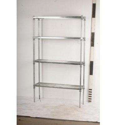 Stainless Steel Shelf Unit  4 Shelves                     1860X1070X310