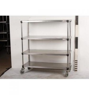 Stainless Steel Trolley 4 Shelves                           1355X1200X505