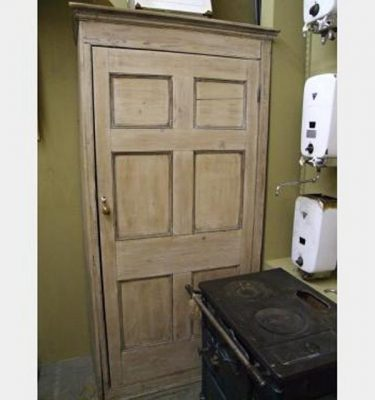 Large Wooden Cupboard Painted 910Lx510Wx2080H