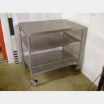 Stainless Steel Trolley X2