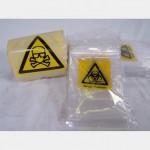 Bio Hazard Tape And Bags