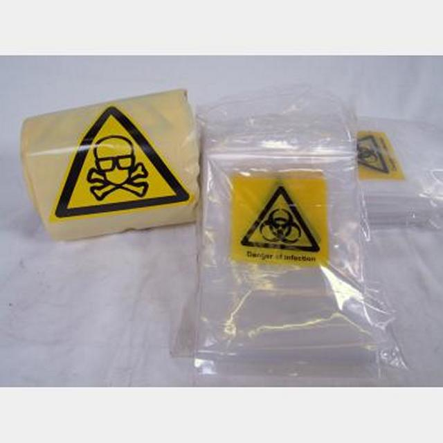 Bio Hazard Tape And Bags