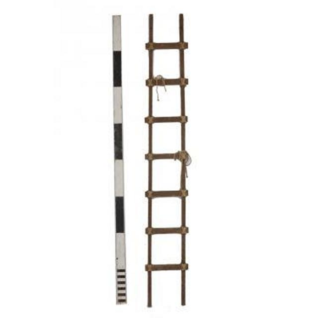 Wooden Medieval Style Ladder 2440