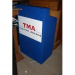 Lectern Painted Wood