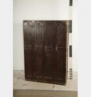 3X Wooden 3X Units (12 Doors)