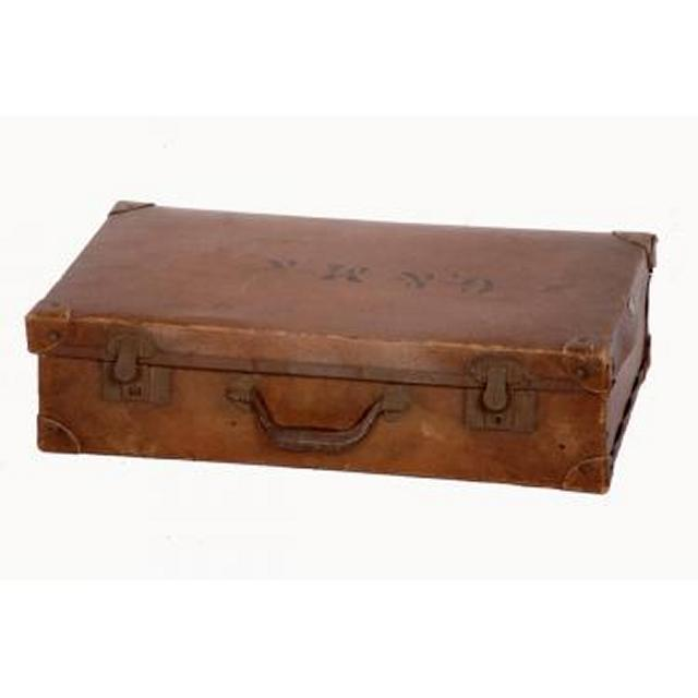 Suitcase Leather 195X715X410