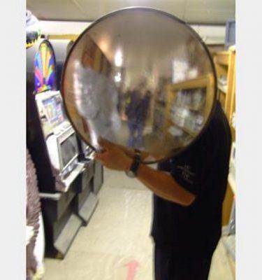 Concave Street Mirror X1  610Mm Diameter