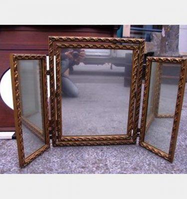 Gilded 3 Way Dress Mirror 590X880