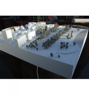 Architects Town  Model White