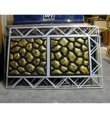 Bubble Panels Metal Frame